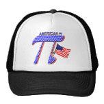 AMERICAN PI (PIE) - MATH HUMOR TRUCKER HATS