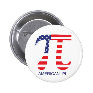 American Pi Pinback Button