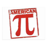 American Pi Postcard