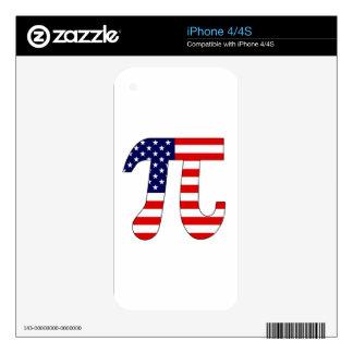 American Pi iPhone 4 Decals