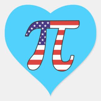 American Pi Stickers