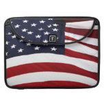 American Pie (Apple Pie with American Flag) Sleeve For MacBook Pro