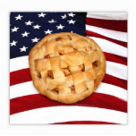 American Pie (Apple Pie with American Flag) Cut Outs