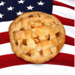 American Pie (Apple Pie with American Flag) Photo Sculptures