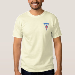 American Pie Embroidered T-Shirt