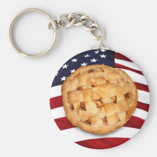 American Pie Keychain