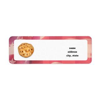 American Pie Custom Return Address Labels