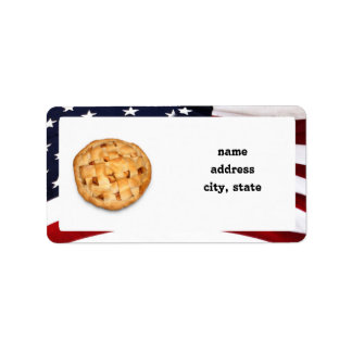 American Pie Personalized Address Labels
