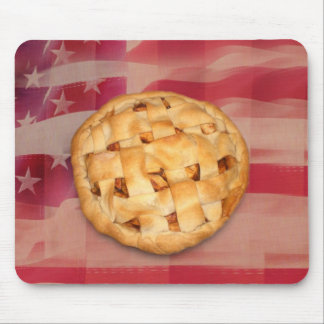 American Pie on Old Glory Mousepad