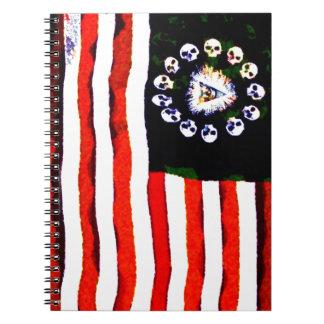 American Pirate 005 Spiral Notebook