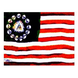 American Pirate 005 Postcard
