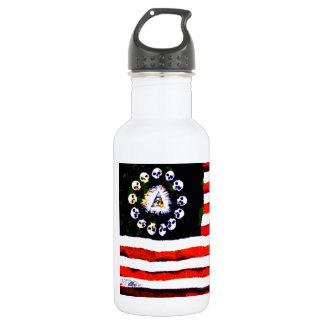 American Pirate 005 Stainless Steel Water Bottle