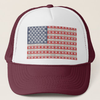 American Pirate Flag Trucker Hat
