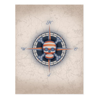 American Pirate Rose Postcard