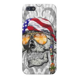 American Pirate Scull and Bones iPhone SE/5/5s Case