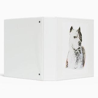 American Pit Bull Terrier 3 Ring Binder