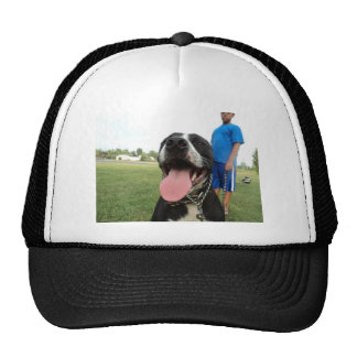 American Pit Bull Terrier- A Family Dog Mesh Hats
