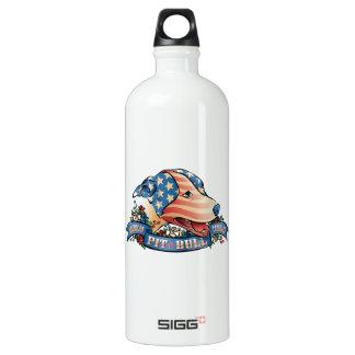 American Pit Bull Terrier Aluminum Water Bottle