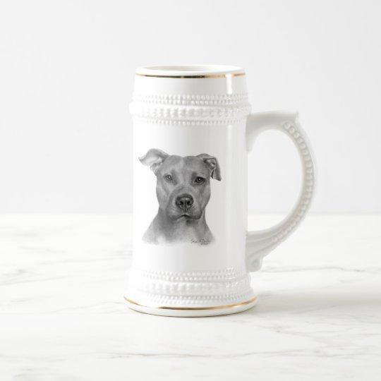 American Pit Bull Terrier Beer Stein