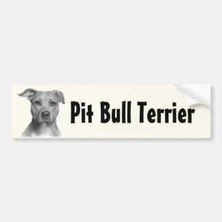 American Pit Bull Terrier Car Bumper Sticker