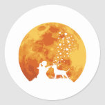 American Pit Bull Terrier Classic Round Sticker