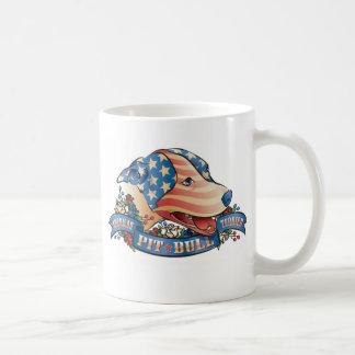 American Pit Bull Terrier Classic White Coffee Mug