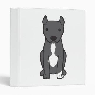 American Pit Bull Terrier (Cropped Ears) Binders