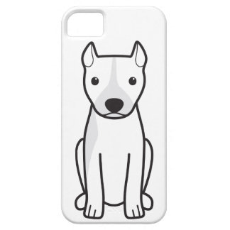 American Pit Bull Terrier (Cropped Ears) iPhone SE/5/5s Case