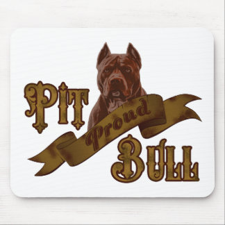 American Pit Bull Terrier Dog Mouse Pad