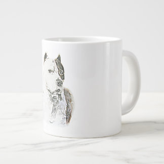 American Pit Bull Terrier Giant Coffee Mug