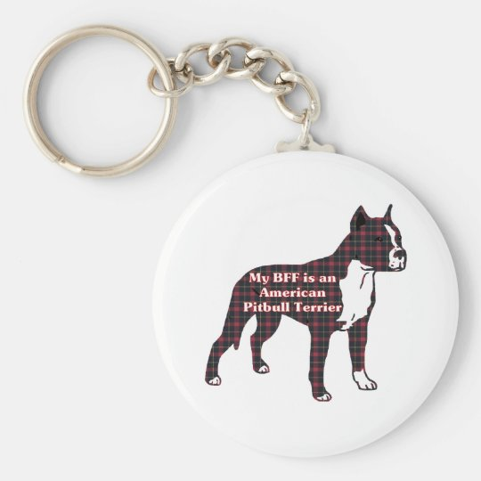 American Pit Bull Terrier Gifts Keychain