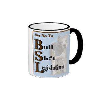 American Pit Bull Terrier Gifts Ringer Coffee Mug