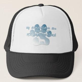 American Pit Bull Terrier Grandchildren Trucker Hat