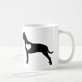 American Pit Bull Terrier Heart Mug