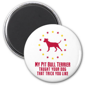 American Pit Bull Terrier Magnets