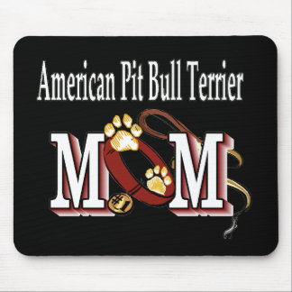 American Pit Bull Terrier Mom Mouse Pad