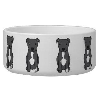 American Pit Bull Terrier (Natural Ears) Bowl