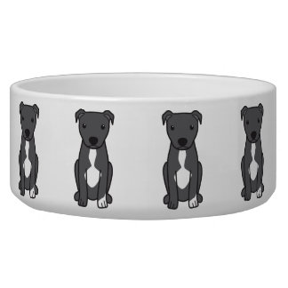 American Pit Bull Terrier (Natural Ears) Bowl