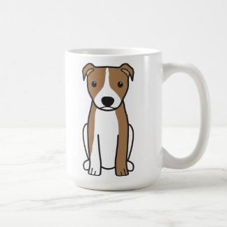 American Pit Bull Terrier (Natural Ears) Coffee Mug