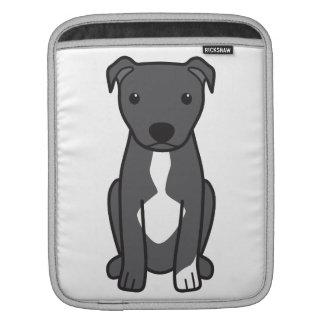 American Pit Bull Terrier (Natural Ears) iPad Sleeves