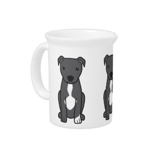 American Pit Bull Terrier (Natural Ears) Pitchers