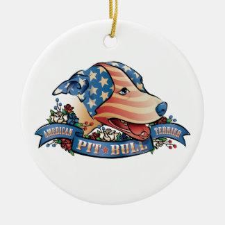 American Pit Bull Terrier Ornament