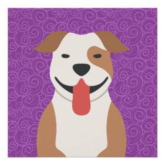 American Pit Bull Terrier Perfect Poster
