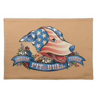 American Pit Bull Terrier Placemat