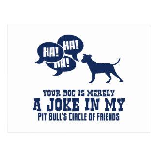 American Pit Bull Terrier Postcard