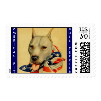 AMERICAN PIT BULL TERRIER stamps