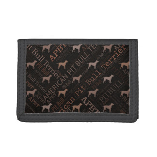 American Pit Bull Terrier Trifold Wallet