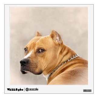 American Pit Bull Terrier Wall Decal