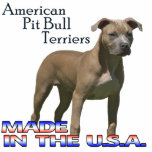 "American Pit Bull Terriers  Paper Sculpture<br><div class=""desc"">On a desk,  or on a shelf,  this bold paper sculpture makes your support and love for this great breed clear!</div>"