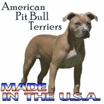 American Pit Bull Terriers  Paper Sculpture